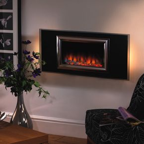 Flamerite Izaro wall mounted fire only £249 showroom model.