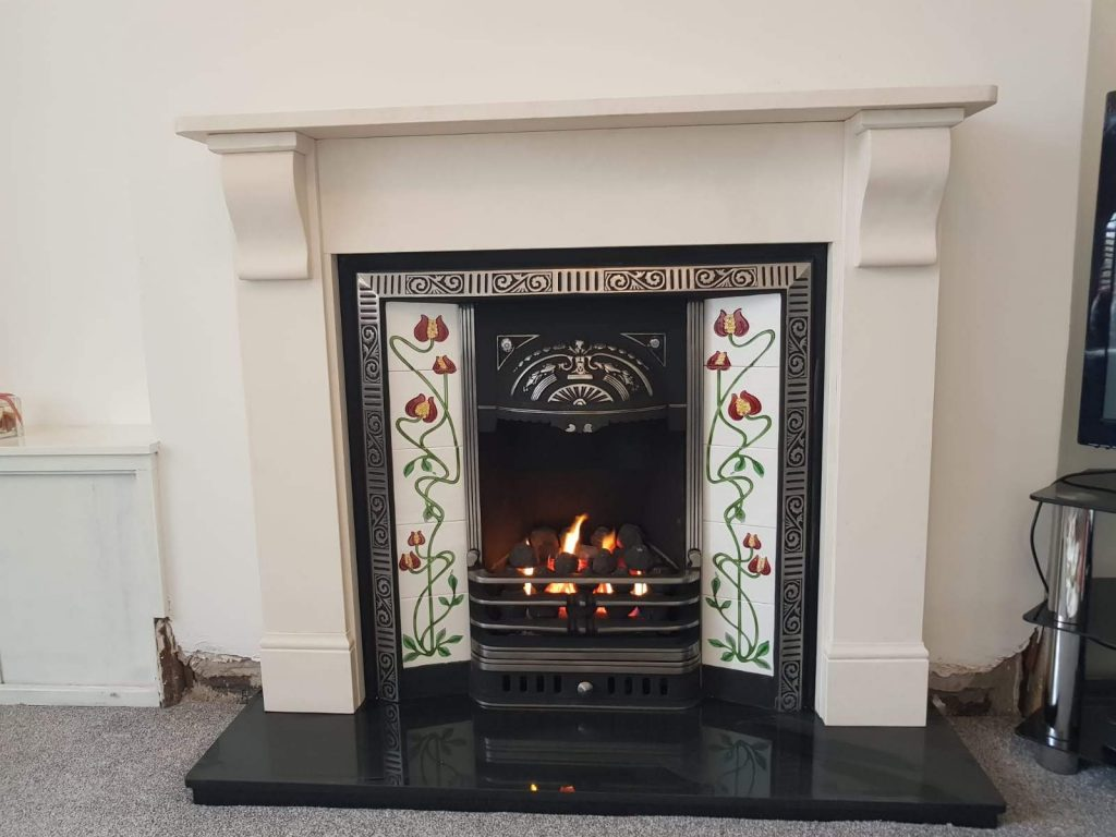 Victorian Casting and Limestone surround