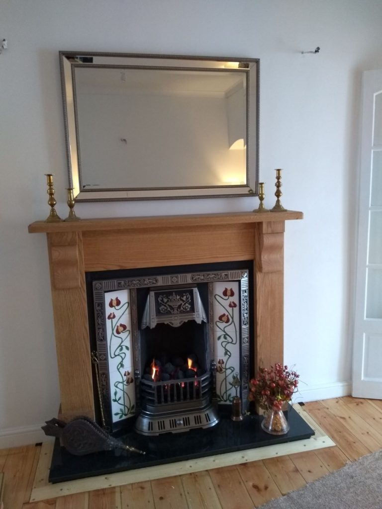 Victorian Gas Fireplace