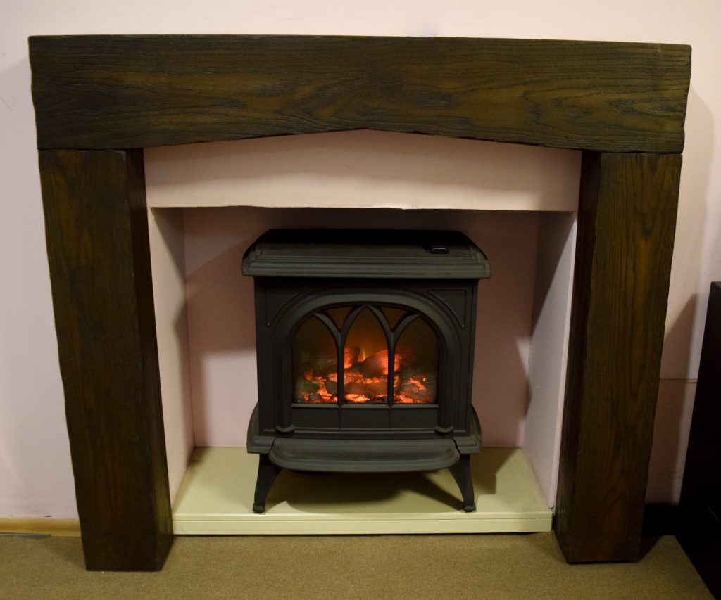 The Arch Surround - ONLY - £358 - Gazco Electric Stove Cast Iron Remote option - ONLY £699 - other options available
