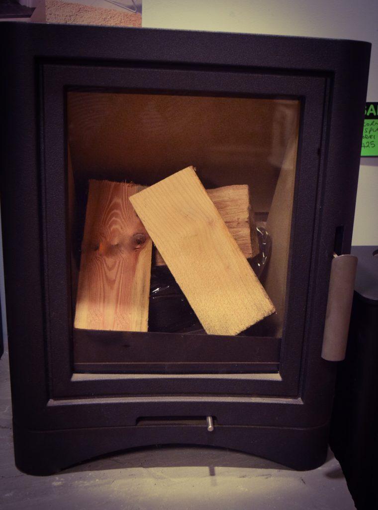 Eco Burn Wood Burner DISPLAY MODEL NOW ONLY - £749 Was - £989