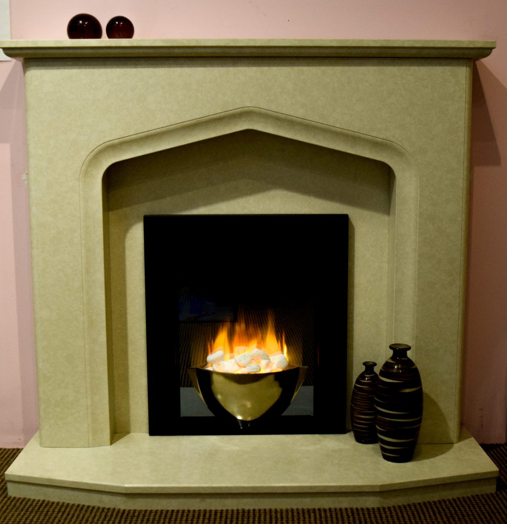 "Auriella 48"" Surround - DISPLAY MODEL NOW ONLY - £660 was £775 - Flamerite Sonatta 2 Electric Fire - DISPLAY MODEL NOW ONLY £340"