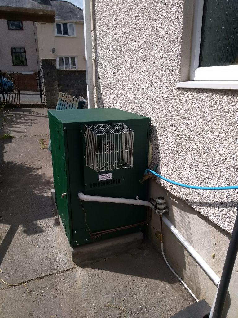 External Worcester Oil Boiler