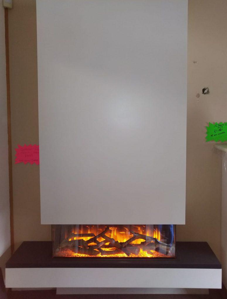 Flamerite Exdisplay Glazier with false chimney breast: New - £1449, Exdisplay - £1200